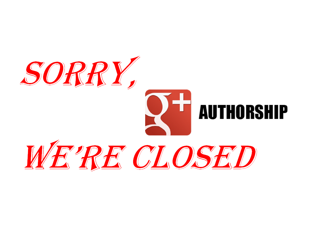 Google plus Authorship No longer available